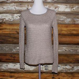 👑 3/$12 American Eagle Tan Sweater